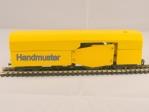 Handmuster Reinigungswagen Spur TT, H0m, H0e