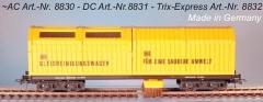 H0-Gleisstaubsaugerwagen