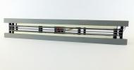 H0-Radreinigung Seitenansicht