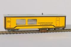 H0m Gleisstaubsaugerwagen