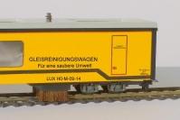 H0m Gleisstaubsaugerwagen Bürstenausschnitt