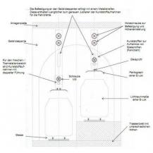 Skizze Tunneloberleitungssystem