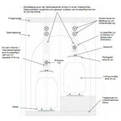 Skizze Tunneloberleitungshalter