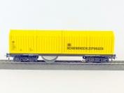 Schienen- und Oberleitungsschleifwagen in H0