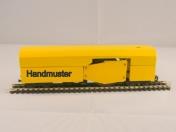Schienenschleifwagen in H0e